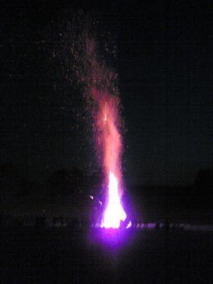Beim Johannisfeuer in Egling