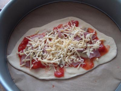 Pizza Fonso - vorher