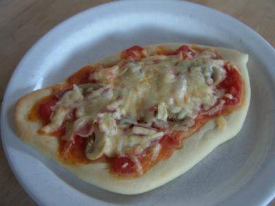 Pizza Fonso - nachher