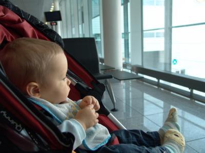 Das Krümelmonster am Flughafen München
