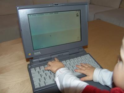 Cool! Mein erster Macintosh!