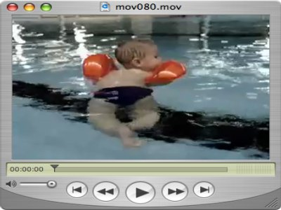 Ein kleiner grosser Schwimmer