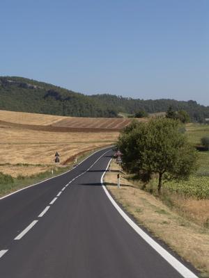 Die Strecke nach Sarteano
