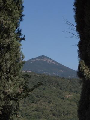 Der Monte Cetona