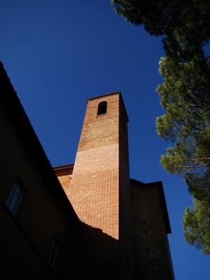 Super blauer Himmel auch in Citta della Pieve