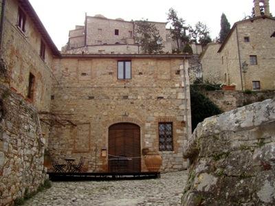 Das Hotel aus unter dem Himmel der Toskana