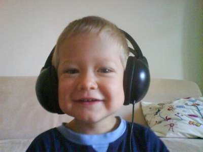 Ich liebe Kopfhörer