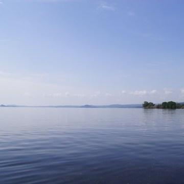 Al lago trasimeno con i nostri amici