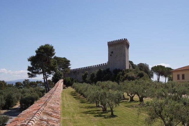 Il castello di Castiglione del Lago