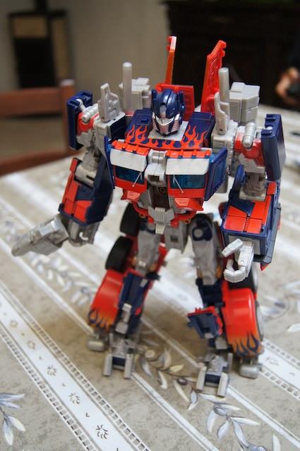Optimus Prime e geniale!