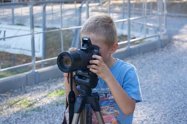 Yves, il piccolo grande fotografo