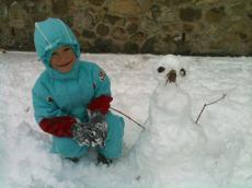 Il pupazzo di neve di Fonzie