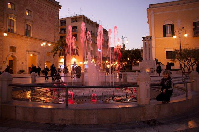 Ed una bella serata a Matera