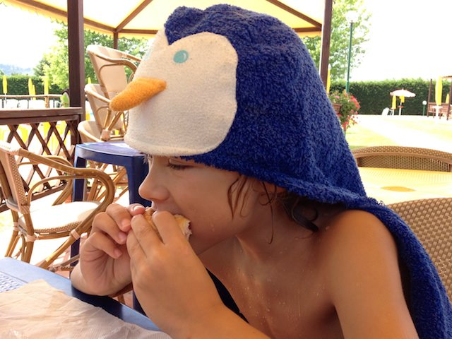 Il Pinguschonso al parco piscine