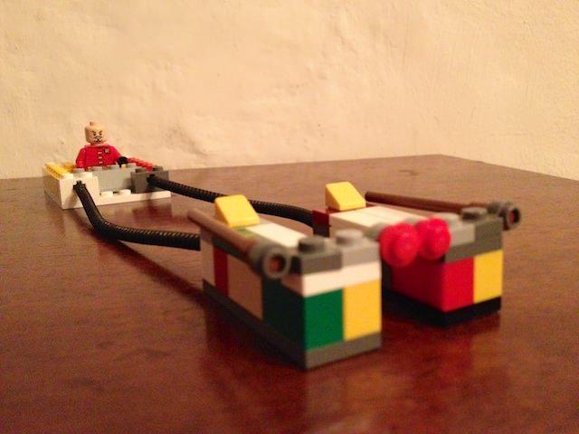 Yves ha costruito un Podracer di LEGO