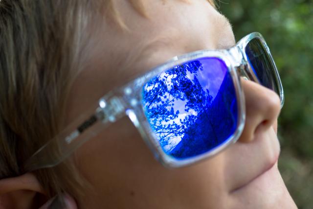 Riflessioni negli occhiali di Fonzie