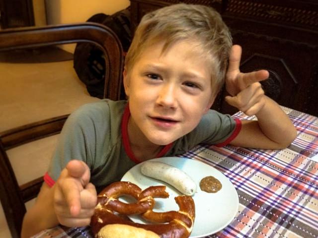 Yves piace la colazione alla bavarese