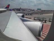 A bordo della 747 che ci porta a Bangkok