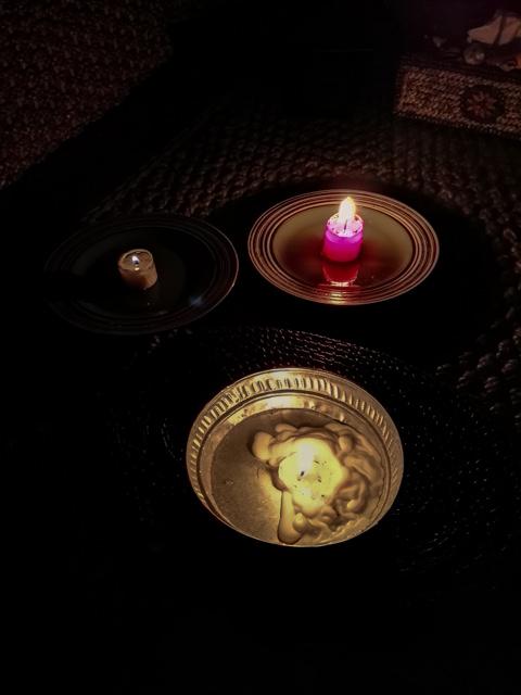 Una serata a lume di candele