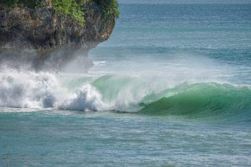 Le onde sono abbastanza grandi oggi