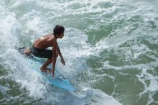 Baim sta cavalcando l'onda