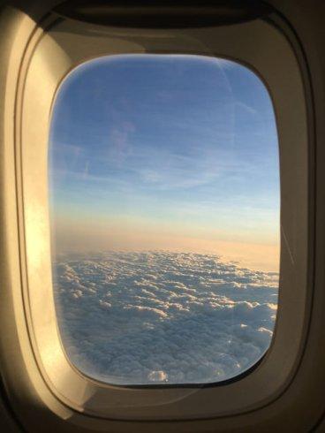 Siamo già sopra le nuvole