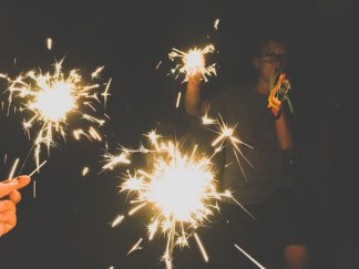 Look at our sparklers
