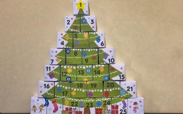 My advent calendar this year
