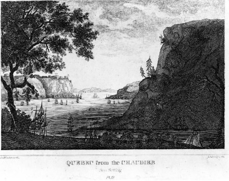 Quebec from the chaudiere