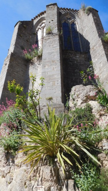 L'église de Mourèze