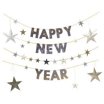 10 New Year's Eve Glam Decor Ideas