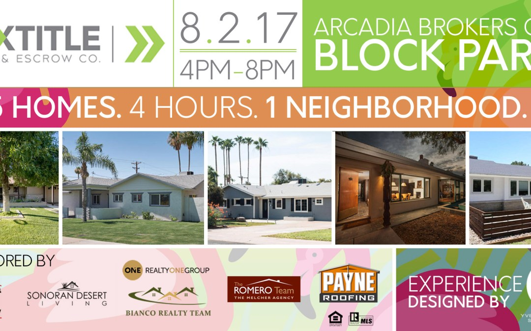 Experience Case Study: Summertime Broker's Open Block Party