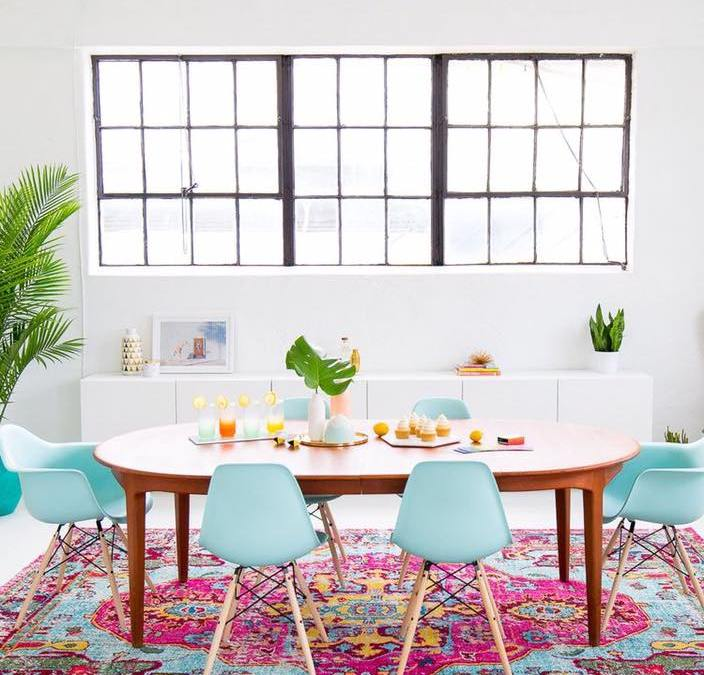 Modern Monday: Tropical Dining