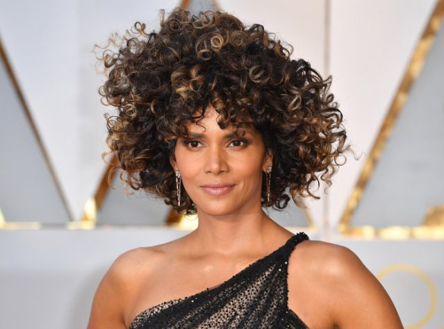 Halle Berry's Fierce Mane of Curls
