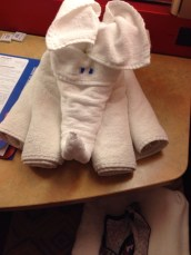 Our little towel animals