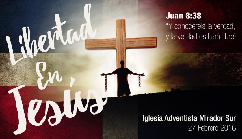 Tarjeta Libertad en Jesus - Actividad Dra Jerez
