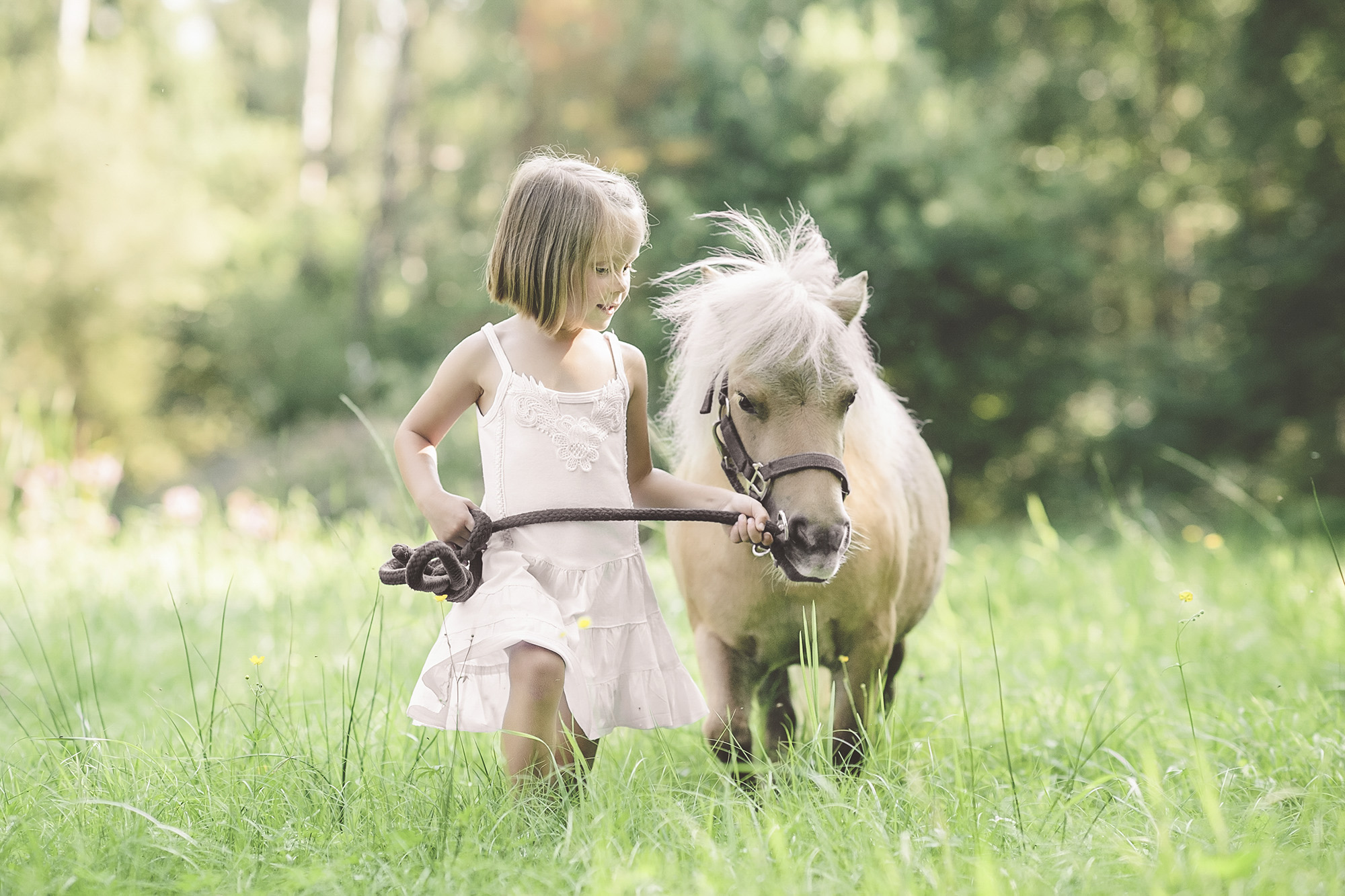 Kinderfotos mit Pony in Bad Aibling  Babyfotos Rosenheim