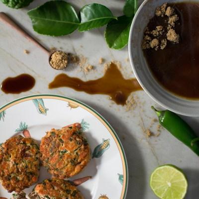 Kaffir Lime & Wasabi Fish Cakes