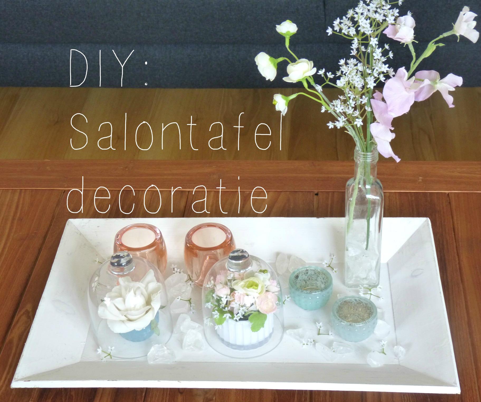 DIY Salontafel decoratie