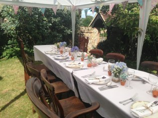 Wedding Ceremony at a National Trust property