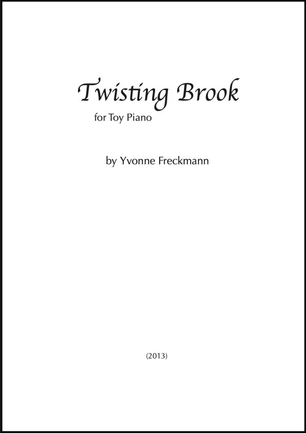 Twisting Brook cover page