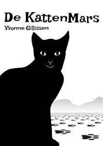 """Cover luisterboek """"De kattenmars"""" van Yvonne Gillissen."""