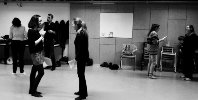 Foto introductie workshop Method acting feb 2017