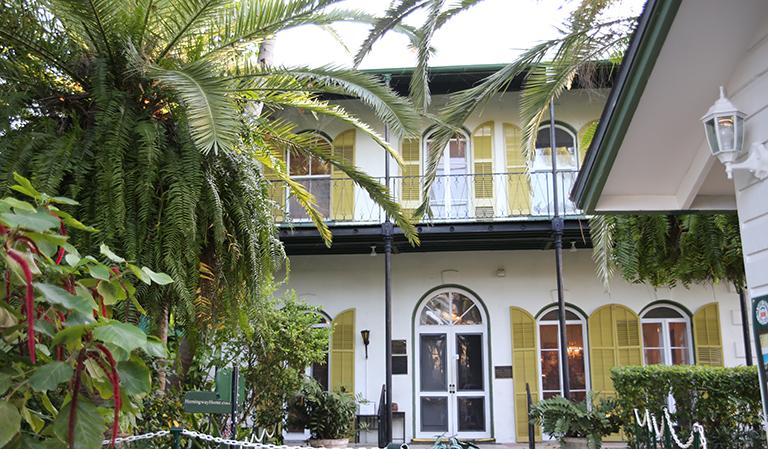 Hjemmet til Ernest Hemingway på Key West.