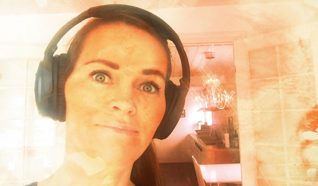 Yvonne - fornøyd med Bose headset