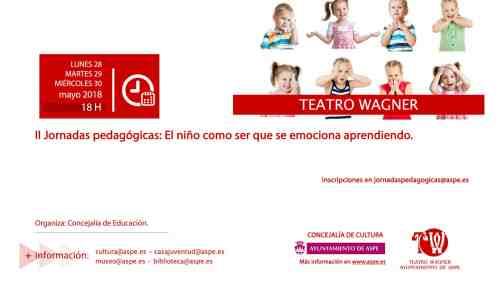 ASPE - Crianza Consciente @ Teatro Wagner | Aspe | Comunidad Valenciana | España