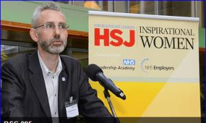 Alastair McLellan announcing the #HSJWomen 2014