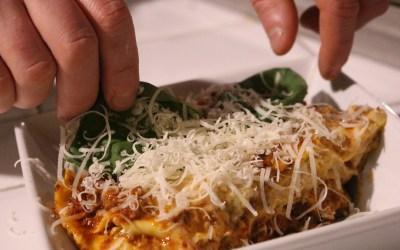 Protopasta Lasagne met spinazie en Italiaanse saus
