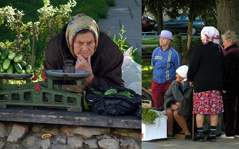 baboeshka's in Rusland