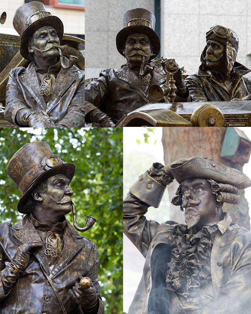 World Living Statues Arnhem